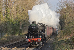 Ashford to Alton (ianmartian) Tags: steam special stanier black5 44871 ashford alton cathedrals express