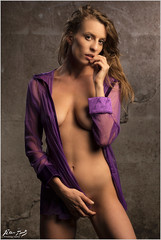 Sloane: Purple Blouse (Peter Heuts) Tags: sloane september 2018 netherlands peterheuts peter heuts photography sony a99m2 a99ii alpha 99m2 full frame beauty beautiful french frenchgirl francais modelshoot sexy piar carlzeiss sal135f18z