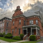 South Street ~ Utica NY ~ Restored ~ HIstoric District  ~  High Victorian Architecture 1890s thumbnail