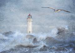 Perch Rock Lighthouse (lyndaha) Tags: newbrighton perchrock water mersey lighthouse composite