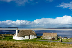 Malacleit Cottage, N. Uist (rsthomas9) Tags: greatphotographers blackhouse hebrides uist northuist scotland sea beach