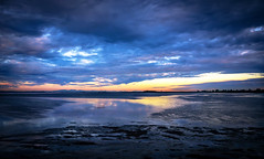 Moody blues reflections (Christie : Colour & Light Collection) Tags: boundarybaymudflats mudflats mudflat beach shore mud pacificocean skylight cloudworks colour color moody atmospheric atmospher britishcolumbia dramatic morning blue purples dawn sunrise cloudy moodyblues shoreline tidesout reflections reflection waterreflections