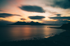 Rùm from Eigg at Sunset, Inner Hebrides, Scotland (Nils Leonhardt) Tags: scotland longexposure leefilters innerhebrides isleofrum isleofeigg landscapephotography nilsleonhardt leebigstopper neutraldensityfilters