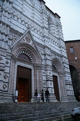 Back entrance by crypt, Siena Cathedral (Tatiana12) Tags: italy siena sienacathedral crypt meetingrooms art architecture