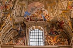Chiesa di Sant'Ignazio da Loyola in Campo Marzio (Michele Monteleone) Tags: arte roma cielo chiesa basilica italia 2018 canon eos40d