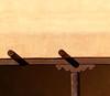 Viga Shadows (studioferullo) Tags: abstract architecture art beauty bright building colorful colourful colors colours contrast dark design detail downtown edge geometric light lines minimalism perspective pattern pretty scene shadow study sunlight sunshine texture tone world sanfelipe church chapel sanctuary adobe viga courtyard cortile albuquerque newmexico