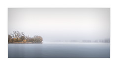 November Studie X (W.Utsch) Tags: landscape autumn lake fog minimalism minimal sony longexposure haida water colors waterscape mist brume nebel rhein see herbst fall november monimal nd30 soft