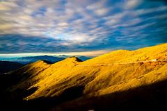 Golden Martins (L.Rico) Tags: taichung hehuanshan 台灣 合歡山 mountain sky sunrise golden gold shadows clouds landscape landscapephotography cloud