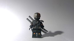 Custom LEGO DC: Deathstroke (Caruana Customs) Tags: batman arkham origins deathstroke teen titans teentitans sword custom lego minifigure dc