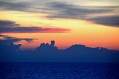 Andaman Sea Sunset (Seventh Heaven Photography *) Tags: andaman sea sunset dusk ocean orange clouds silhouette nikon d3200 water