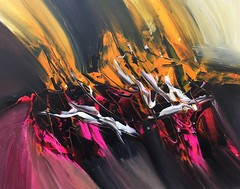 Abstract art is a way of expressing a modified view of the world by using canvas and paint. Get a huge dose of inspiration from these beautiful pieces of abstract art. Visit my online gallery at http://metalmanfineart.storenvy.com (JoeySantiagoFineArt) Tags: abstract painting artists art artworks acrylic techniques for sale ideas images black white original paintings