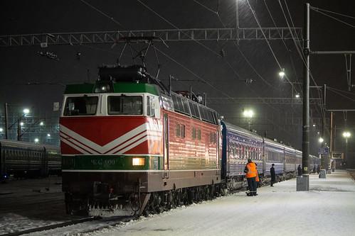 ЧС4Т-600, Санкт-Петербург - Минск, станция Орша-Центральная ©  neu_zwei