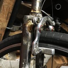 Direct mount centerpulls, #2 (Tysasi) Tags: fork xtracycle 700c mafac mafacbrakes mafaccenterpulls directmount centerpullmount