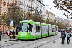 BRN_1929_201811 (Tram Photos) Tags: skoda škoda 13t brno brünn strasenbahn tram tramway tramvaj tramwaj mhd šalina dopravnípodnikměstabrna dpmb vollwerbung ganzreklame