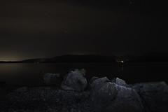 Millarochy Bay - Leading Rocks (cammyross29) Tags: nikon d810 loch lomond national park scotland night millarochy bay