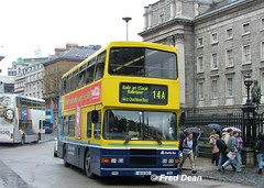 Dublin Bus RA263 (96D263). (Fred Dean Jnr) Tags: april2005 dublin dublinbus busathacliath dublinbusyellowbluelivery volvo olympian alexander r collegegreendublin dbrook dublinbusroute14a ra263 96d263