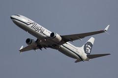 N309AS Boeing 737-990 Alaska (SamCom) Tags: kdfw dfw dallasfortworthinternational foundersplaza n309as boeing 737990 alaska 737900