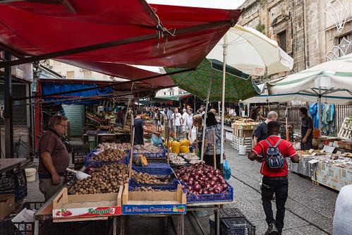 Sizilien 2018 - Palermo - Ballarò Markt