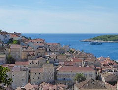 View from The Fortress (GillWilson) Tags: hvar croatia fortress islands