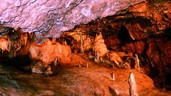 In the cave 2. (Travis Pictures) Tags: caves cave kentscavern devon torbay underground red rocks rock cavern caverns subterranean nikon d5200 photoshop darkness england britain uk southwestengland westcountry