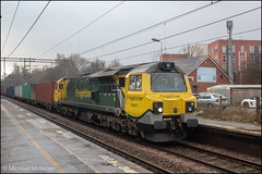 Freightliner 70007 (Mike McNiven) Tags: freightliner freight diesel loco locomotive traffordpark trafford southampton containerterminal healdgreen stockport manchester