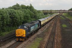 37419 Bolton, Manchester (Paul Emma) Tags: uk england railtour choppertopper 37419 20305 20308 railway railroad bolton manchester