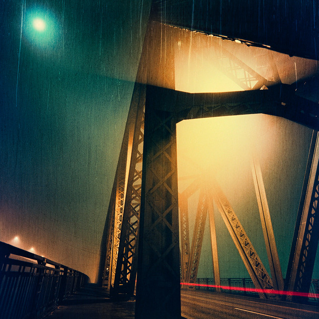 Analog Archive: Holtenauer Hochbrücke