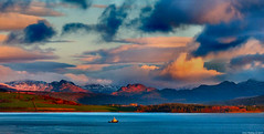 Scotland West Highlands the mountains of Argyll at sunrise 4 February 2019 by Anne MacKay (Anne MacKay images of interest & wonder) Tags: scotland west highlands river clyde clouds mountains argyll tug sunrise landscape 4 february 2019 picture by anne mackay exoticimage awardtree
