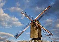 Sint-Janshuismolen (@WineAlchemy1) Tags: windmill sintjanshuismolen kruisvest brugge bruges flanders vlaanderen belgium flour milling grinding sails moulin