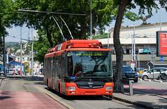 Bratislava trolleybus: Škoda 30Tr # 6103 (Amir Nurgaliyev) Tags: škoda30trsor dpb bratislavatrolleybus