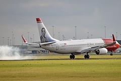 """""""Jan Baalsrud"""" Norwegian Air International EI-FVZ Boeing 737-8JP Winglets cn/42093-6746 @ Buitenveldertbaan EHAM / AMS 13-08-2018 (Nabil Molinari Photography) Tags: janbaalsrud norwegian air international eifvz boeing 7378jp winglets cn420936746 buitenveldertbaan eham ams 13082018"""
