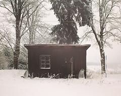 The Shack (Jitka Ertelová) Tags: winter season december shack snow czechrepublic erzgebirge krusnehory oremountains sundaytrip