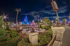 Night Time in Magic Kingdom (jimisPHOTOS) Tags: disney disneyworld waltdisneyworld wdw orlando florida travel themepark themeparks color night stars hdr