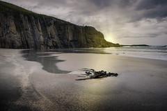 Échouée (JardinsLeeds) Tags: scottishlandscape scotland paysageécosse écosse paysage beach plage landscape sunset coucherdesoleil nikond800e