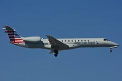 N853AE (American Eagle - Envoy Air) (Steelhead 2010) Tags: americanairlines americaneagle envoyair embraer erj erj140 yyz nreg n853ae