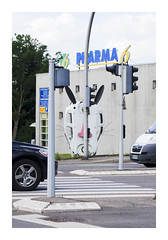 _PRE4134 (Jordane Prestrot) Tags: ♋ jordaneprestrot mulhouse sculpture escultura pharmacie pharmacy farmacia lapin rabbit conejo bunny