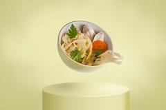 The chicken soup (yanoosh) Tags: foodphotography food soup chickensoup eating meal dish course retouch retouching photoshop adobephotoshop creativephotography