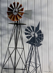 Windmill. (~~Chuck's~~Photos~~) Tags: chucksphotos canonsx60 amish neighbors windmill aroundthefarm kentuckyphotos shadows outdoors winter ourworldinphotosgroup earthwindandfiregroup photosthruyourlensgroup solidarityagainstcancergroup