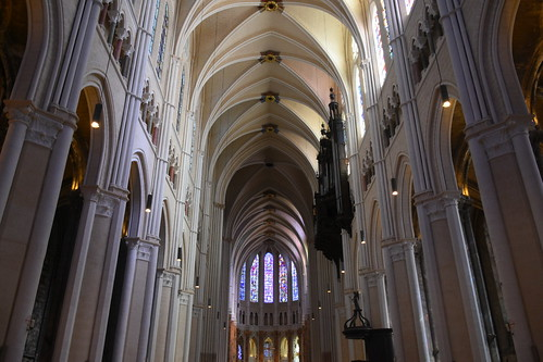 Chartres Cathedral - Inside the Nave 1