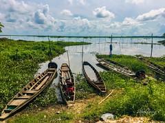 Boats (Pak Lang E) Tags: boat water lake cloud clowdy scene outdoor
