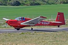 Aeròdrom d'Igualada-Odena. LEIG. (Josep Ollé) Tags: motoveler biplaza falke dkbap motorglider despegue aviación