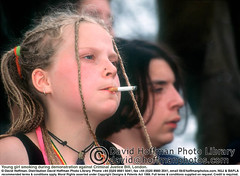 "Girl Smoking Cig 1 (hoffman) Tags: cigarette female girl hair horizontal jewellery necklace pierced piercing smoking tobacco young youth 181112patchingsetforimagerights london uk davidhoffman davidhoffmanphotolibrary socialissues reportage stockphotos""stock photostock photography"" stockphotographs""documentarywwwhoffmanphotoscom copyright"