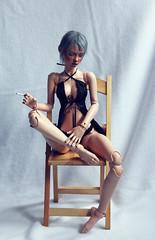 Lingerie VI (Mamzelle Follow) Tags: bimong narae60 bjd doll abjd lingerie