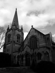 Hoskins Memorial Church (sturkster) Tags: a1200 australia australie architecture canona1200 canonpowershota1200 canon church churcharchitecture bw blackwhite nsw noiretblanc powershot photoscape monochrome 2790