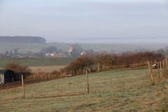 Im Morgendunst (julia_HalleFotoFan) Tags: thüringen wartburgkreis bischofroda frost morgen