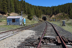 Quiet summit (Moffat Road) Tags: tennesseepass formerriogrande railbanked unionpacific up tunnel siding colorado co