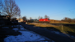 1116 128/ÖBB - Happing (lukasrothmann) Tags: bayern oberbayern heimat happing rosenheim train zug lok lokomotive taurus 1116 öbb autozug rca austria
