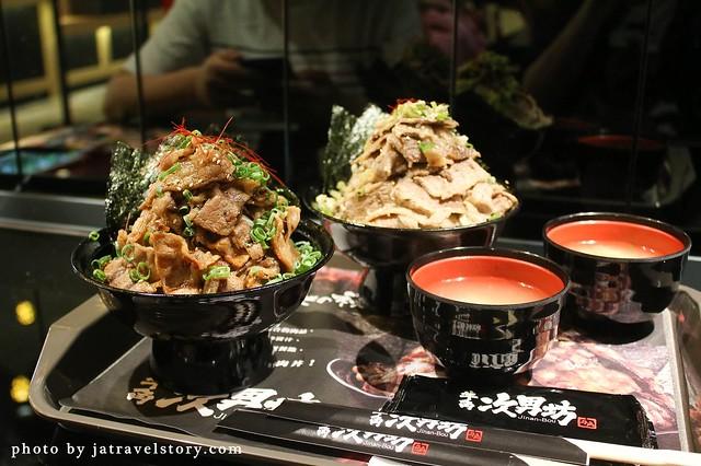牛角次男坊 肉量十足、讓你吃肉吃到膩的燒肉丼!【捷運中山】 @J&A的旅行