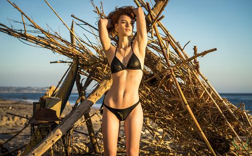 afd2d05e48 Golden Ratio Composition Photography Redhead Ginger Venus! Pretty Swimsuit  Bikini Model Goddess! Sony A7 R ...