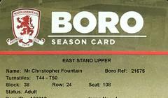 2017/18 (ChrisUTB) Tags: middlesbrough season ticket riverside stadium